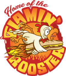 Flamin Rooster